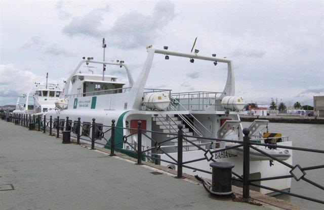 Cádiz.- Suspendidas las conexiones por catamarán entre El Puerto, Rota y la capital por el temporal de viento de Levante
