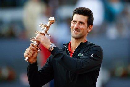 Djokovic se afianza en el liderato de la ATP en una semana de cambios en el 'Top 10'