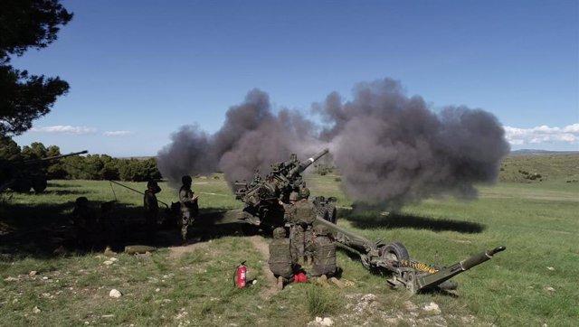 Les Unitats de Balears s'entrenen en el Centre Nacional de Chinchilla per completar la seva preparació militar