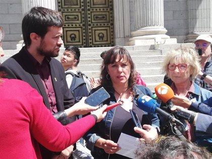 """26M.- Ana Miranda (BNG-Ahora Repúblicas) exige que las """"dificultades"""" para votar desde el exterior """"no se repitan"""""""