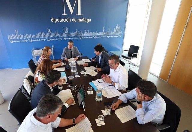 Málaga.- Diputación aprueba la prórroga del servicio de ayuda a domicilio a 467 dependientes hasta final de año