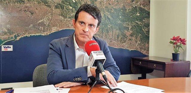 """VÍDEO: 26M.- Valls a Collboni: """"No tiene otra opción"""" que pactar con él en Barcelona"""