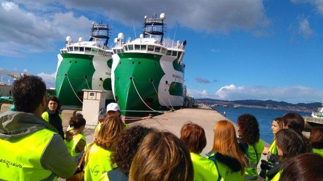 TURISMO.- Viajes InterRías incorpora el programa Vigo Pesquero a su oferta para aumentar las visitas al puerto olívico
