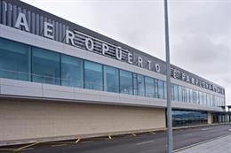 El tráfico de pasajeros del Aeropuerto de Pamplona crece un 9,9% hasta marzo