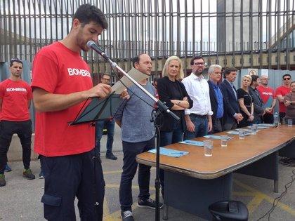 La mayoría de partidos firma un compromiso para ampliar plazas en los Bomberos de Palma y renovar su equipamiento