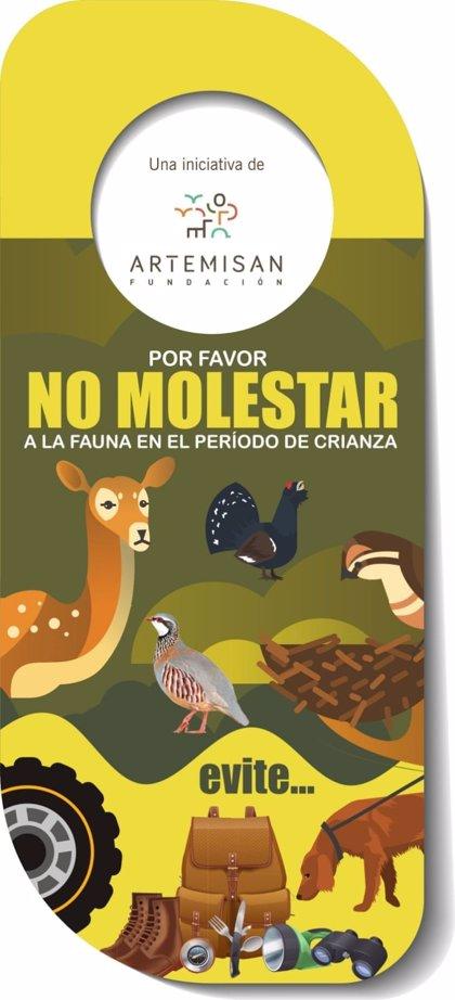 Fundación Artemisan pide no molestar a las especies de fauna durante los periodos de cría