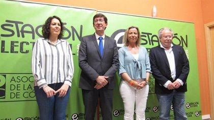 """Marín augura buenos resultados el 26M para Cs, """"el partido que más crece cada vez que se ponen las urnas"""""""