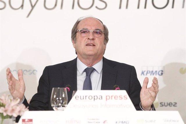 Ángel Gabilondo protagoniza los Desayunos Informativos de Europa Press
