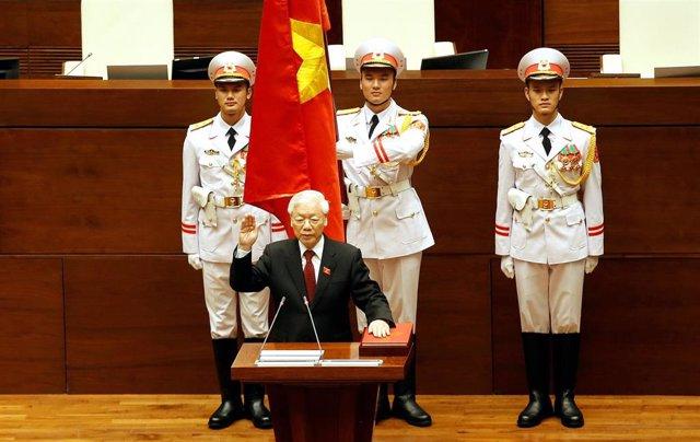Vietnam.- El líder vietnamita, Nguyen Phu Trong, habría enfermado, según fuentes diplomáticas