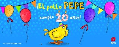 El fenómeno infantil de SM, El pollo Pepe, cumple 20 años y supera el millón y medio de ejemplares