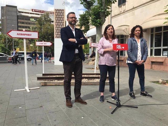 26M.- El PSIB Promet Una Tarifa Plana En Transport Públic Per als Joves I Ampliar El Metre Fins a Son Espases