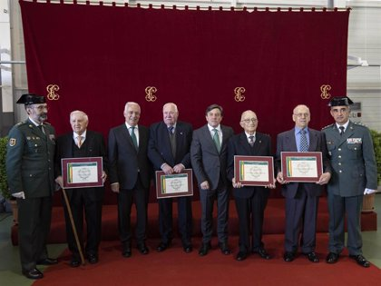 """La Guardia Civil celebra el 175 aniversario de su fundación """"refrendando"""" sus """"valores y principios"""""""