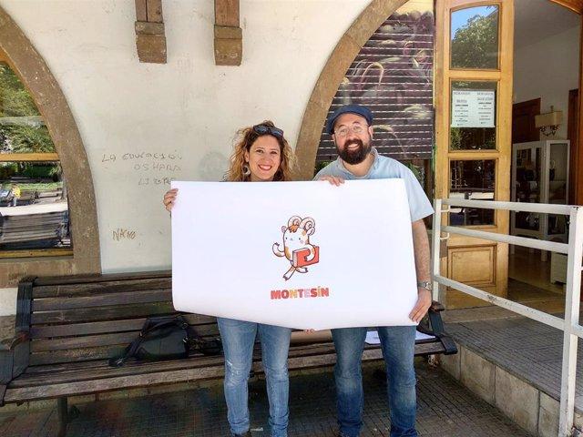 Los candidatos de Somos al Ayuntamiento de Oviedo, David Acera y Anabel Santiago