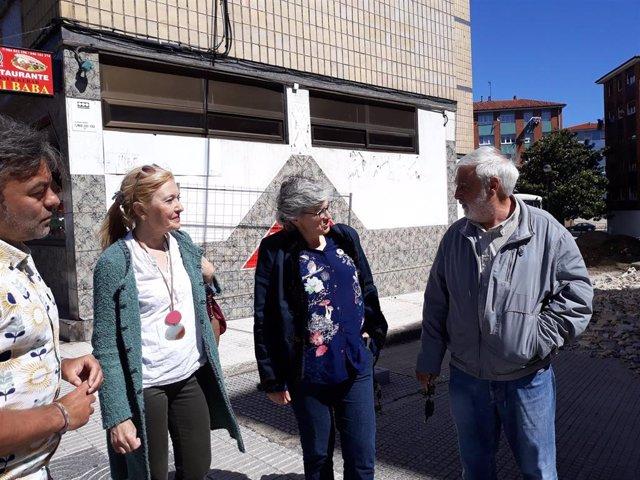 Campaña electoral del PSOE de Gijón