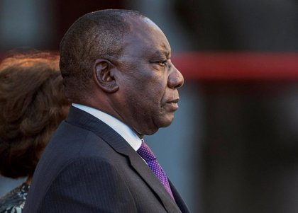 """El presidente de Sudáfrica promete que """"no va a tolerar"""" la corrupción y luchar contra """"tendencias desviadas"""" en el ANC"""