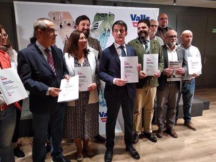 """Valls quiere dar """"autonomía de gestión"""" a Montjuïc con una figura administrativa propia"""