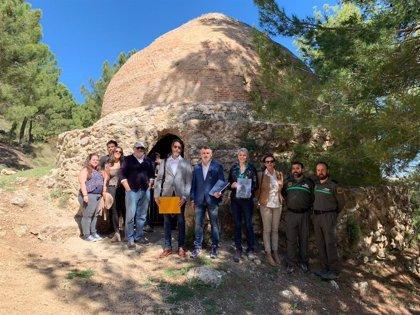 Cultura elabora el plan de los pozos de la nieve de Sierra Espuña para garantizar su conservación y puesta en valor