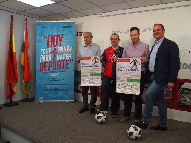 La Ribera acogerá 14, 15 y 16 el XVII Torneo Nacional de Fútbol 7 'Puerta Abierta' organizado por ARFES Rioja