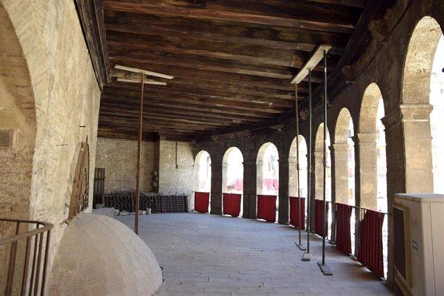 Cultura.- El arquitecto de la Catedral avisa del riesgo de colapso parcial de la fachada de la Lonja de los Canónigos