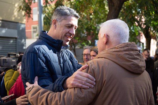 El presidente del PP, Pablo Casado, visita Cataluña