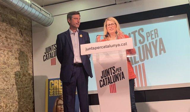 26M.- Jxcat Reprocha A Colau Abandonar La GUB Por Ideología Y Propone 3.300 Nuevos Agentes