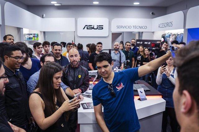 Asus apuesta por la atención y venta presencial con su primera tienda en España en Barcelona