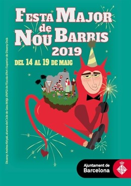 La Festa Major de Nou Barris de Barcelona empieza este martes con el colectivo LGTBI como uno de sus protagonistas