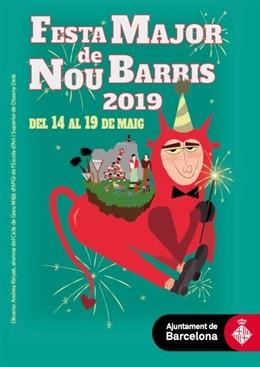 La Festa Major de Nou Barris de Barcelona comença aquest dimarts amb el col·lectiu LGTBI com un dels seus protagonistes
