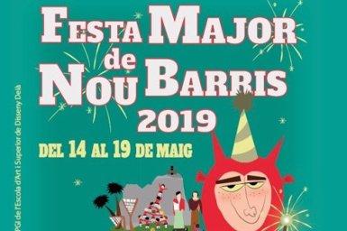 La Festa Major de Nou Barris de Barcelona comença aquest dimarts amb el col·lectiu LGTBI com a protagonista (AJUNTAMENT DE BARCELONA)