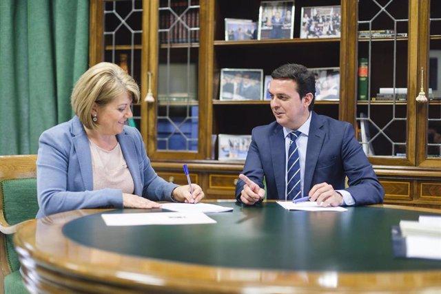 SaboresAlmería.-Diputación entrega 155.000 euros en ayudas a municipios para sus proyectos deportivos y culturales