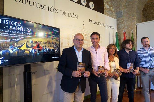 Jaén.- Turismo.- MásJaén.- El programa 'Vive Castillos y Batallas' ofrecerá 74 días de citas turísticas y culturales