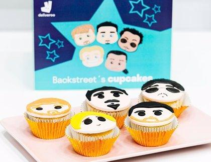 Los cupcakes de Backstreet Boys