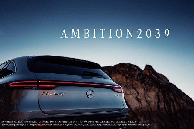 Economía/Motor.- El 50% de las ventas de automóviles de Mercedes-Benz serán electrificadas para 2030