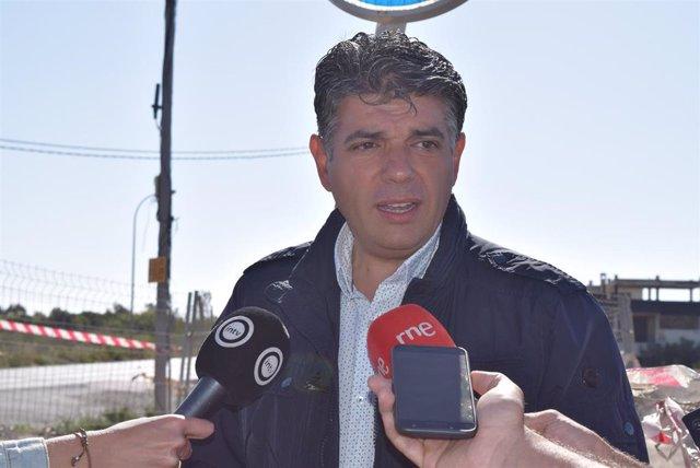 """Almería.-26M.-Cs critica la """"inacción"""" de Subdelegación y Ayuntamiento ante la paralización de obras del Paseo Marítimo"""