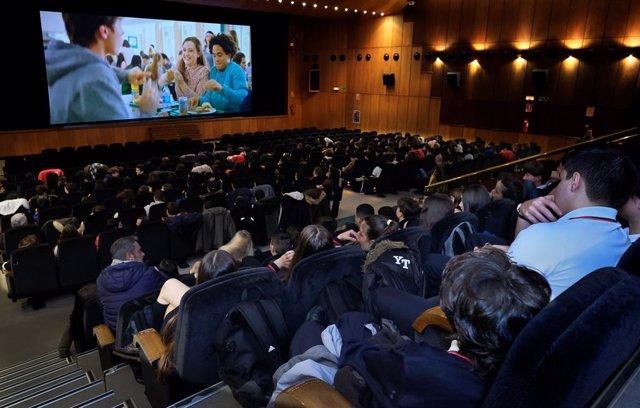 Santander.- Unos 1.750 escolares de la ciudad han participado en la última edición de 'El Cine en la Enseñanza'