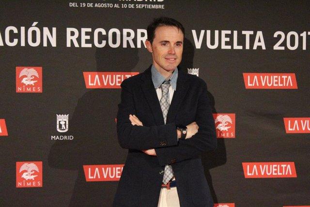 Samuel Sánchez en la Presentación La Vuelta 2017