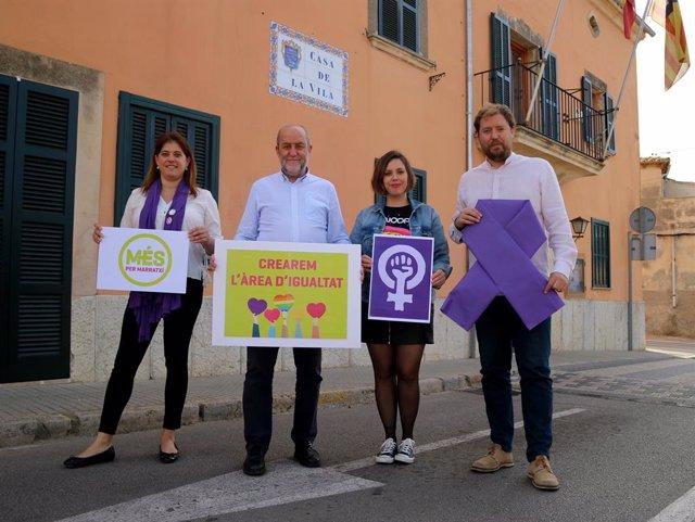 MÉS per Marratxí es compromet a crear l'Àrea d'Igualtat i el Consell de la Dóna en la propera legislatura