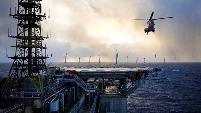 Proyecto del parque eólico de Equinor en el Mar del Norte