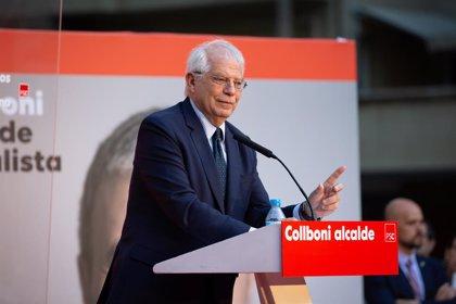 """Borrell dice que la reunión entre Guaidó y López en la Embajada española fue un """"puro encuentro rutinario"""""""