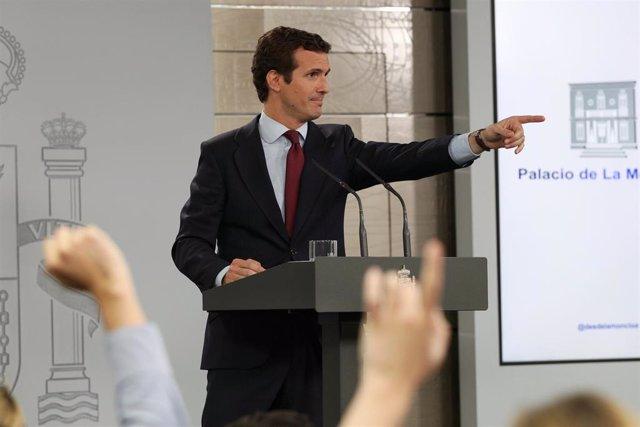26M.- Casado visitará Valencia este sábado dentro de la campaña, en la que recorrerá todas las CCAA