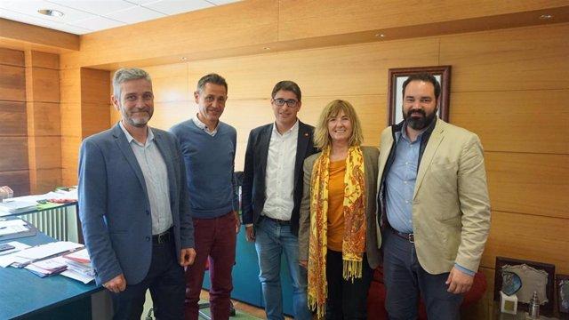 26M.- Ceruti (Cs) Se Compromete A Remodelar Los Campos De Sport De El Sardinero