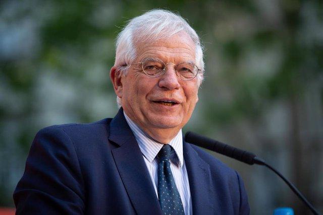 Yemen.- Borrell dice que el destino del barco saudí que cargó armas en Santander no es Yemen sino una feria en EAU
