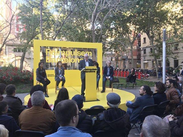 """26M.- Maragall Asegura Que El Ayuntamiento """"Volverá A Ser Amigo"""" De La Barceloneta Si Gobierna"""