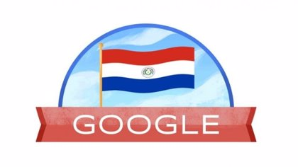 Google celebra en su 'doodle' el Día de la Independencia de Paraguay