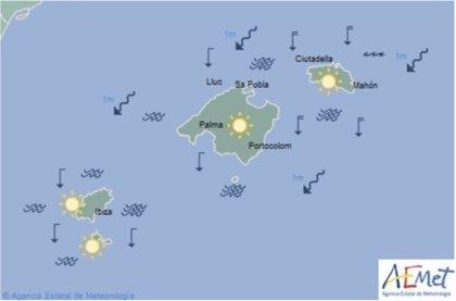 El tiempo, hoy martes 14 de mayo de 2019, en Baleares
