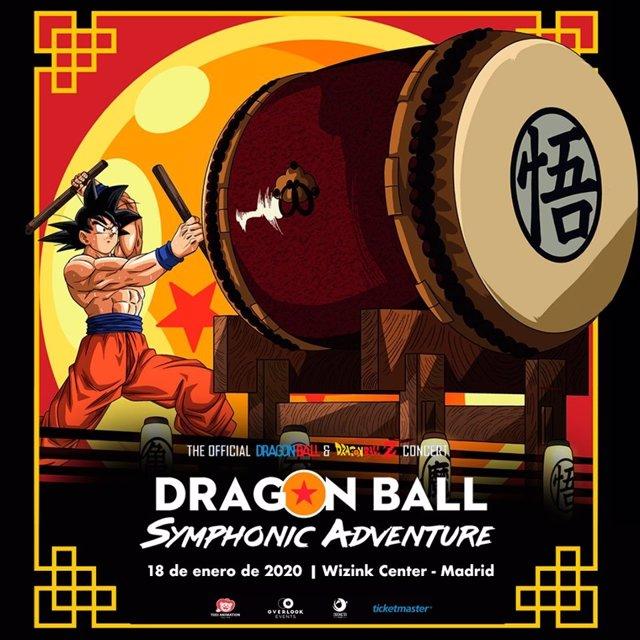 Dragon Ball Symphonic Adventure, el 18 de enero de 2020 en el WiZink Center de Madrid