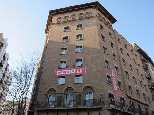 Sede De Comisiones Obreras Aragón En Zaragoza