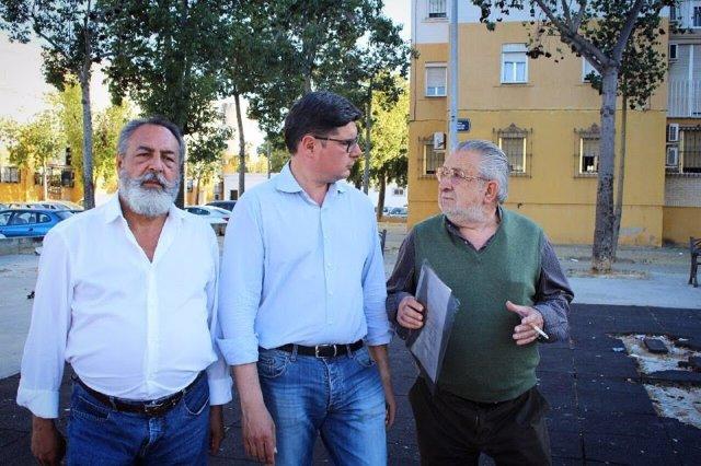 """Sevilla.- 26M.-Cs se compromete a dotar de """"medios humanos y financieros"""" el Plan del Polígono Sur y a """"ejecutarlo"""""""