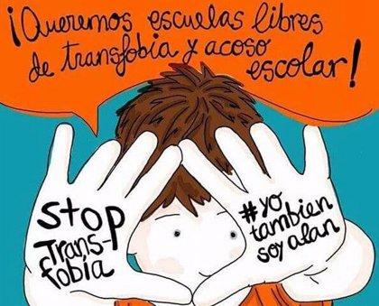 El 90% de menores 'trans' sufre algún tipo de acoso, según la primera Guía de Prevención de Acoso Escolar Transfóbico