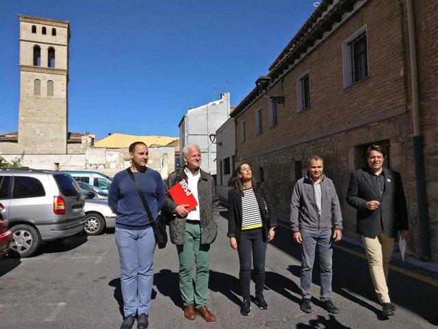 """26M.- Hermoso De Mendoza (PSOE) Aboga Con """"Llenar De Vida"""" El Centro Histórico Atrayendo A Esta Zona A 1.000 Personas"""